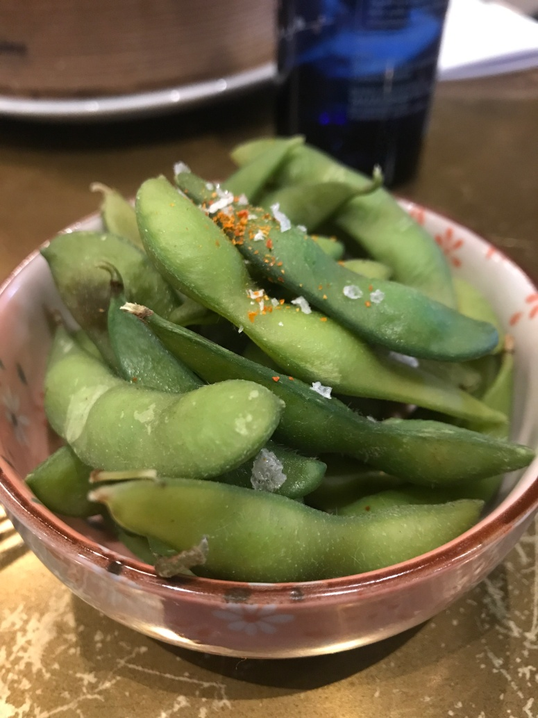 E is for Edamame